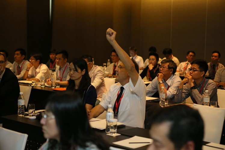 Asia Regional Meeting 2014: Interactions with Members