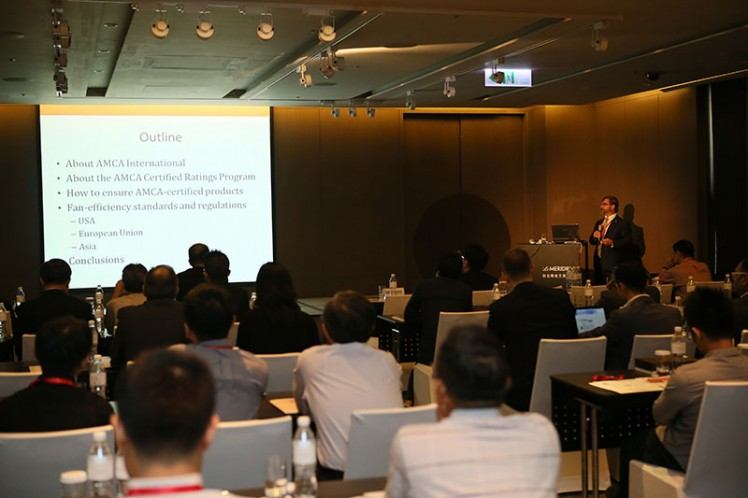 Asia Regional Meeting 2014: CRP & Fan Efficiency Regulations Worldwide by Mr Michael Ivanovich of AMCA Inc