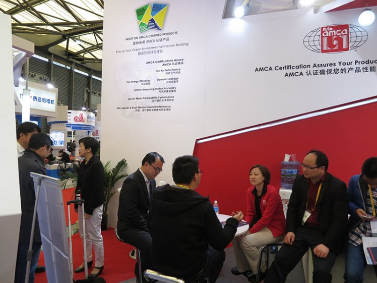 CR 2015: Members Visiting Asia AMCA Booth
