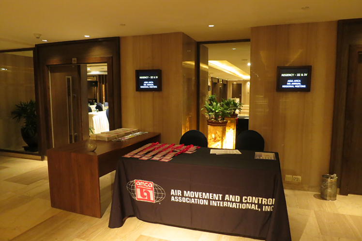 Asia Annual Regional Meeting 2015: Registration Table