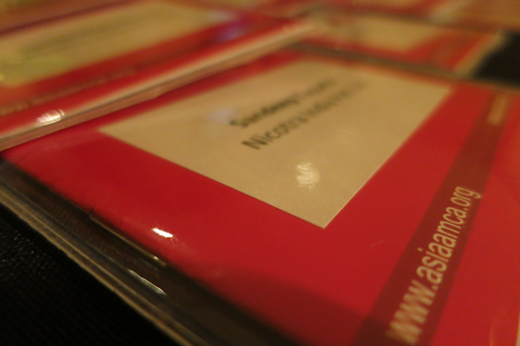 Asia Annual Regional Meeting 2015: Name Badge
