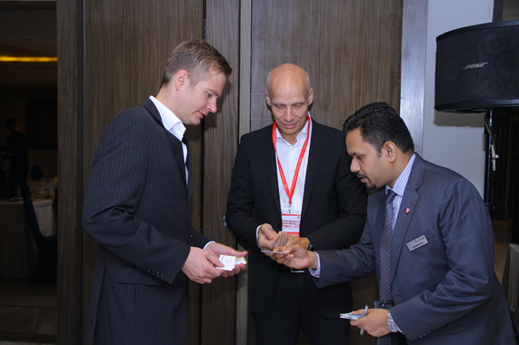 Asia Annual Regional Meeting 2015: Exchanging Name Cards