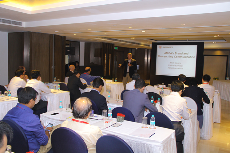 Asia Annual Regional Meeting 2015: Talk on AMCA's Brand & Overarching Communications