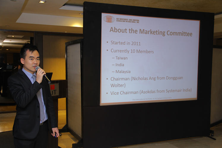 Asia Annual Regional Meeting 2015: Updates on Asia AMCA Marketing Activities