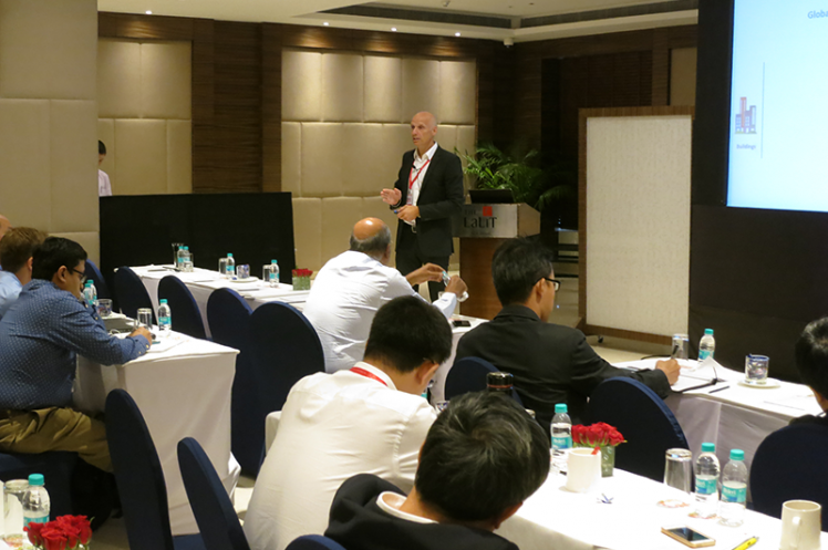 Asia Annual Regional Meeting 2015: Talk on Global Trends in Ventilations
