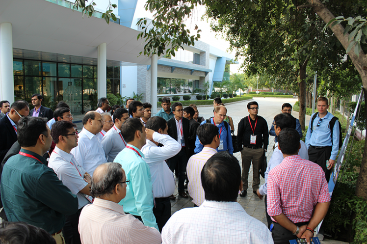 Asia Annual Regional Meeting 2015: Systemair India Factory Tour