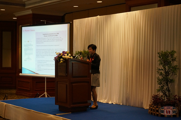 Asia AMCA Annual Regional Meeting 2016: Asia AMCA Updates by Ms Goh