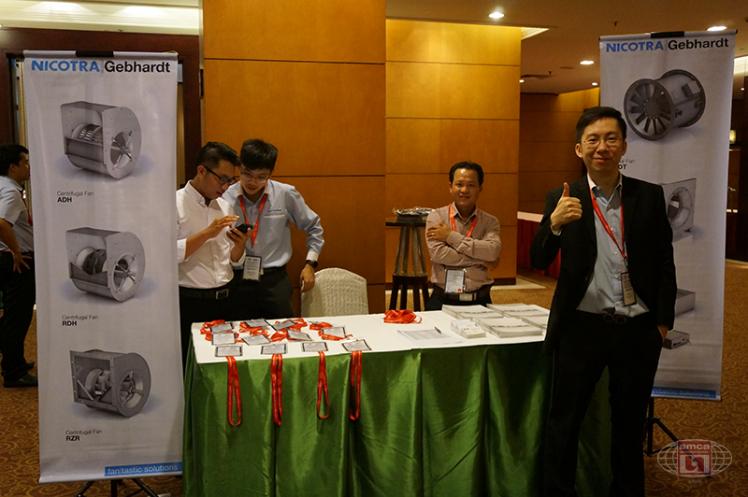 Technical Seminar Vietnam 2016: Nicotra's Booth