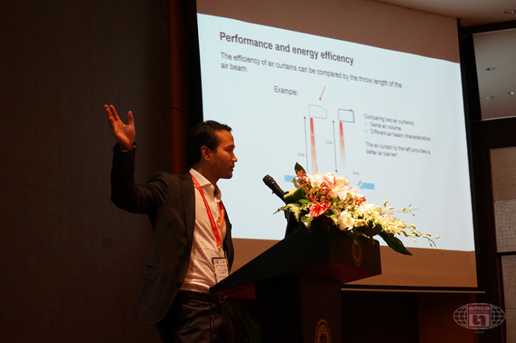 Technical Seminar Vietnam 2016: Frico Presenting Energy Savings Air Curtains