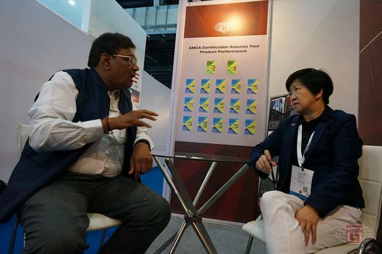 Discussion with Asia AMCA Engineer Associate