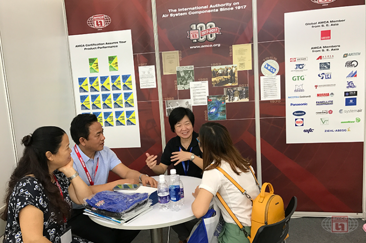 HVACR Vietnam 2017: Discussion with Member