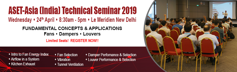 Banner: ASET-Asia (India) Technical Seminar 2019